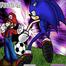 Trận bóng Mario và Sonic